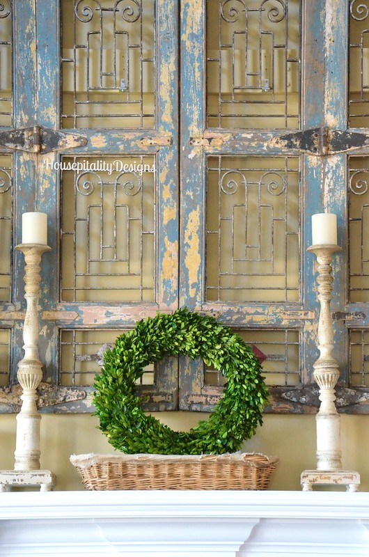 2016 Winter Mantel - Housepitality Designs