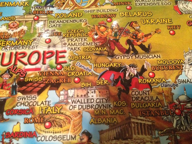 Everything you wanted to know about Europe...