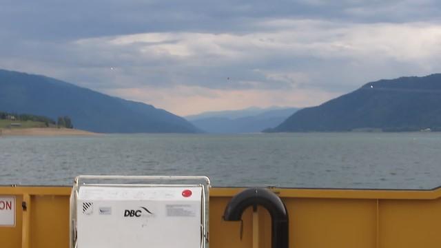 MVI_6154 Needles BC ferry crossing view upper Arrow Lake south
