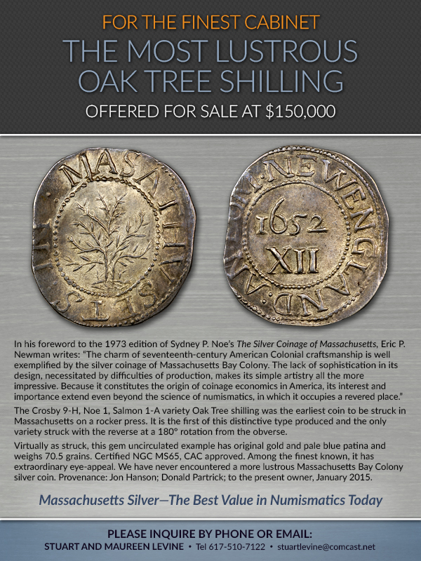 Levine Ad 2016-02-28 Oak Tree Shilling
