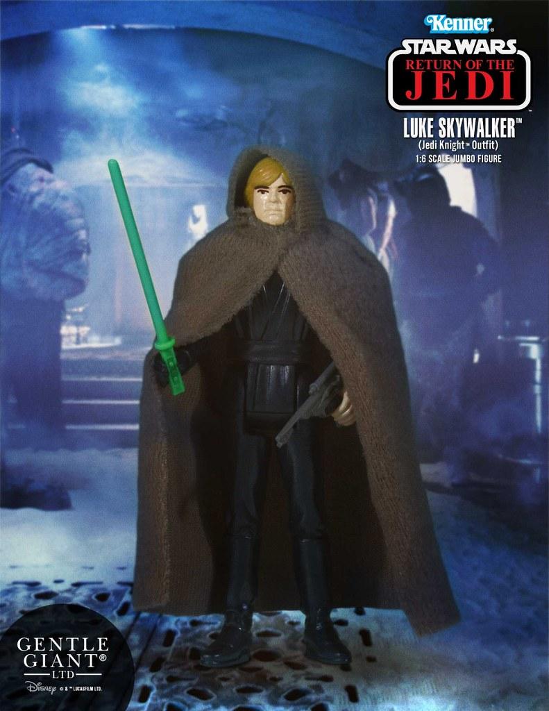 Gentle Giant – 星際大戰系列【路克.天行者】Luke Skywalker 3.75 吋吊卡 Jumbo 版