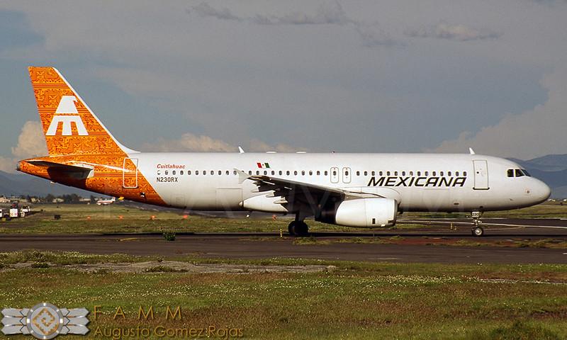 N230RX | Airbus A320-231 | Mexicana