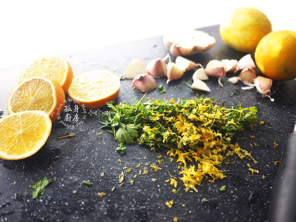 孤身廚房-橄欖柑橘香烤赤鯮5