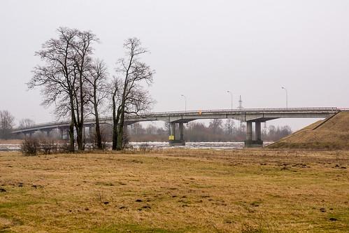 Tiltas į Rusnės sala