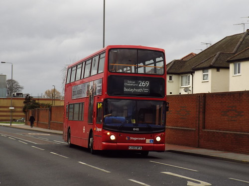 Stagecoach Selkent 18485, LX55BFA in Bexleyheath on route 269
