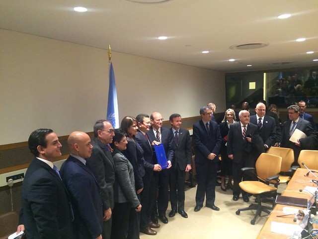 El Salvador ratifies the Rome Statute of the International Criminal Court