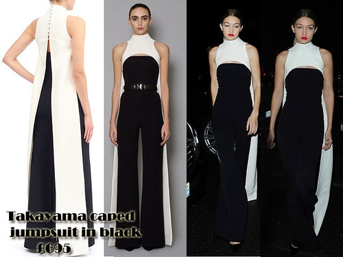 Caped jumpsuit Trend