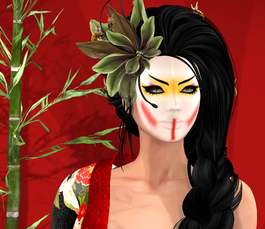 Kabuki makeup layer, Oceane @ Instruments