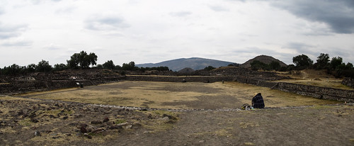 Teotihuacan: la Chaussée des Morts