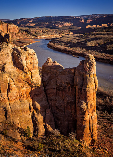 Colorado River Evening