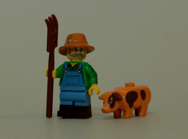 71011 LEGO Minifigures - Series 15 - Farmer