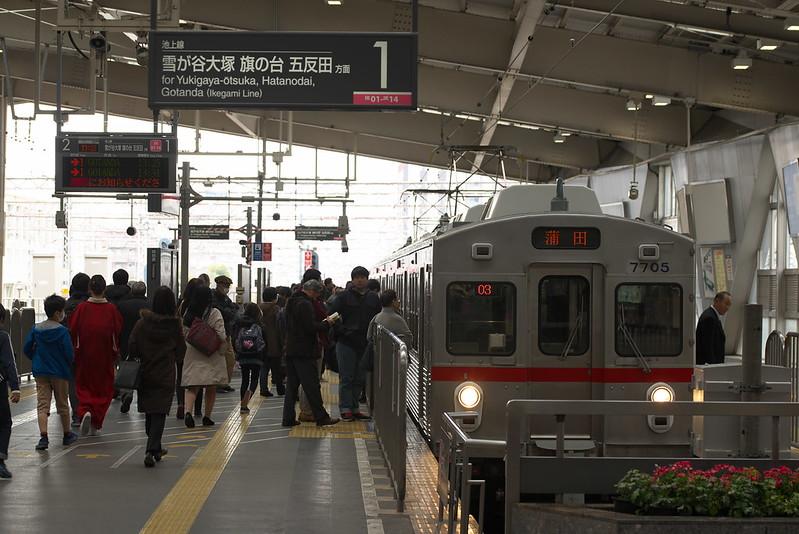 Tokyo Train Story 東急池上線 2016年3月26日