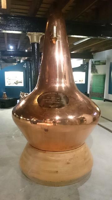 Copper still, Glen Ord Distillery