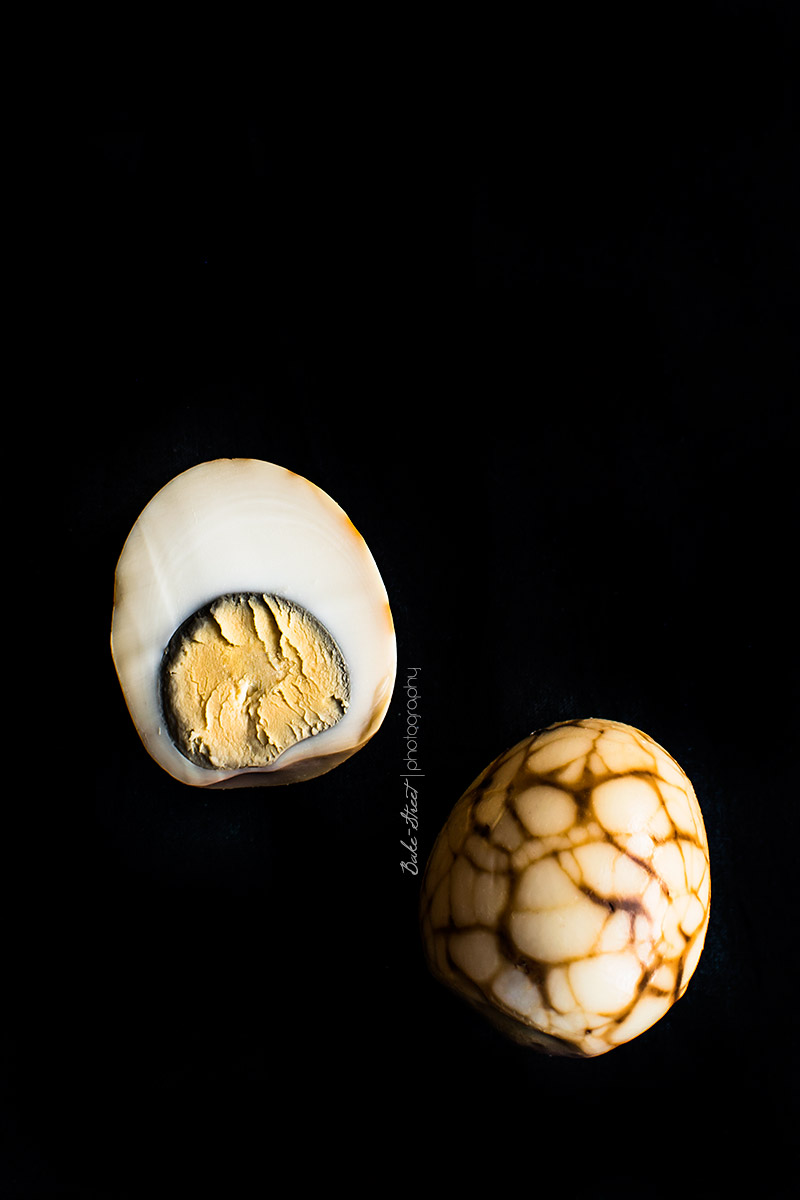 Cómo hacer huevos chinos de té - Tea Eggs