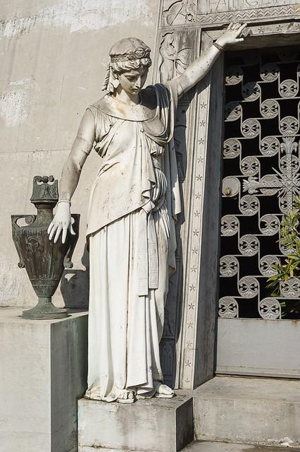 edicola Bruni, cimitero monumentale, Milano