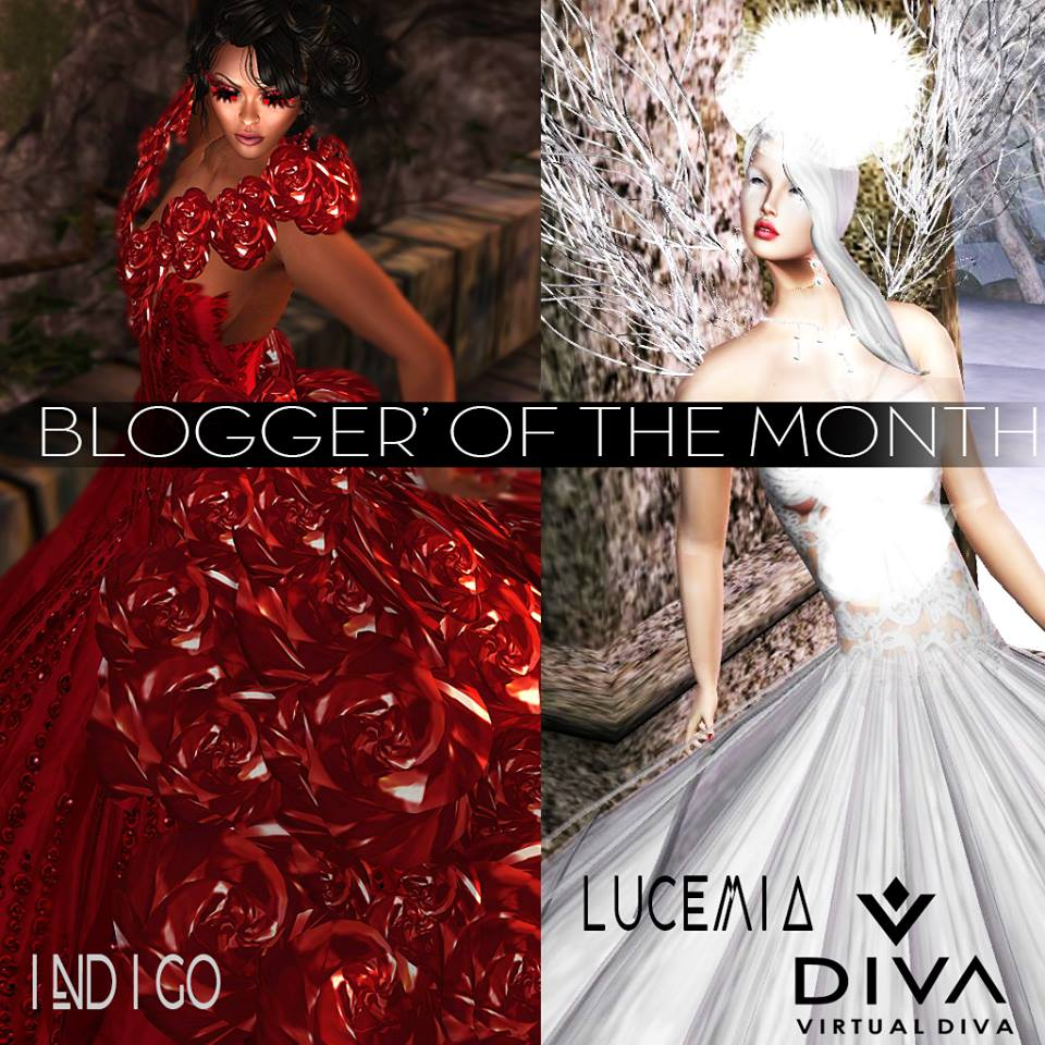 LuceMia - Virtual Diva Couture - Bloggers of the Month