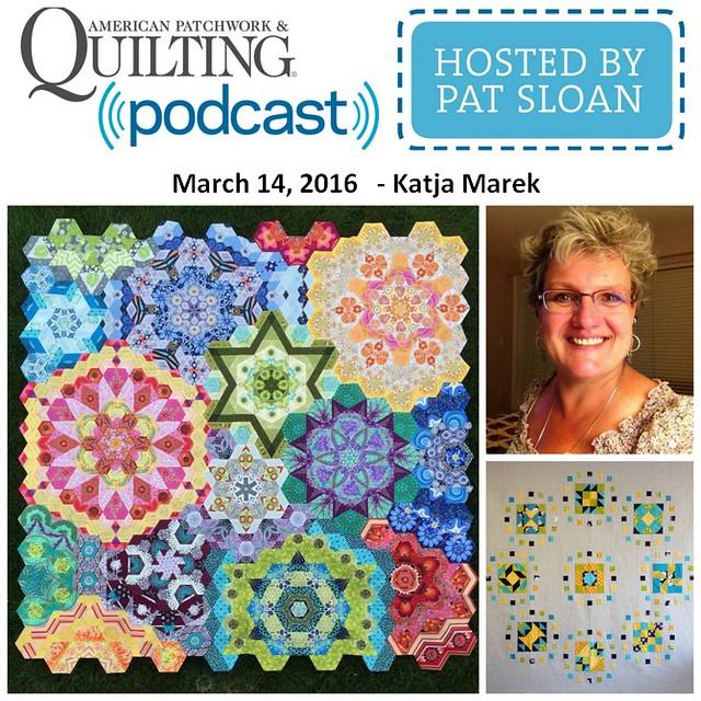 American Patchwork Quilting Pocast episode 295 Katja Marek