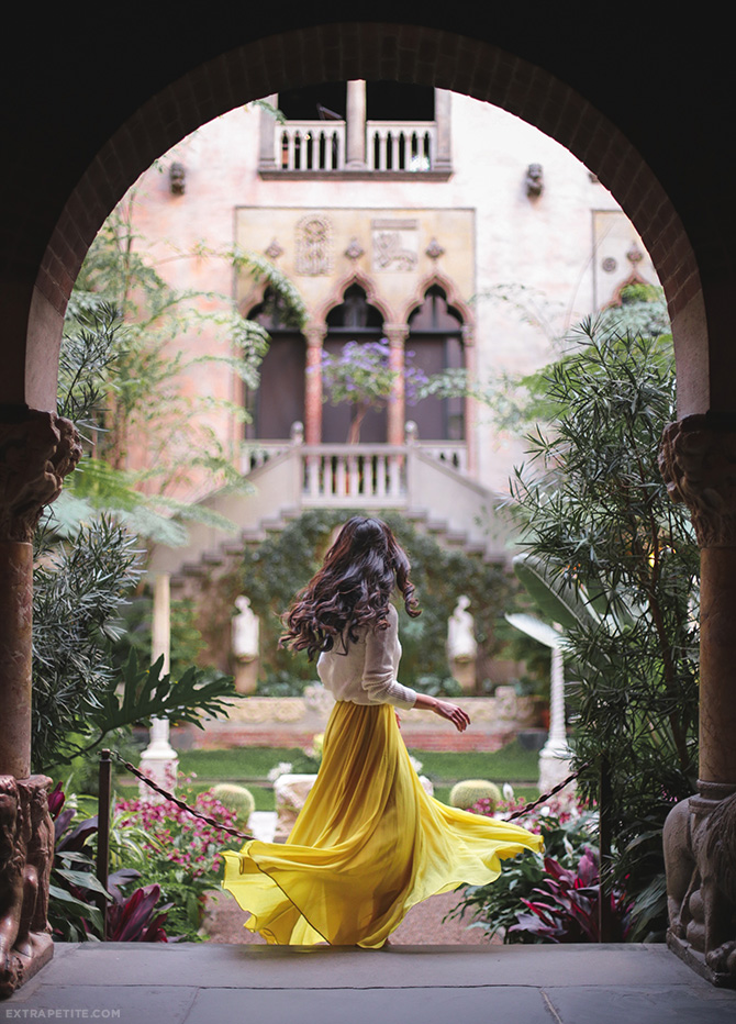 isabella stewart gardner museum boston yellow maxi skirt dress