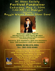 DCBS Festival Fundraiser May 7 with Reggie Wayne Morris