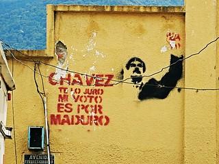 Chavez te lo juro - Stencil in Merida
