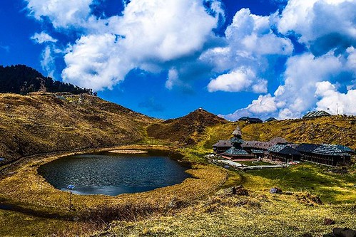 Prashar Lake and Temple.