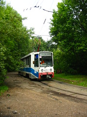 Moscow tram 71-608K 4011
