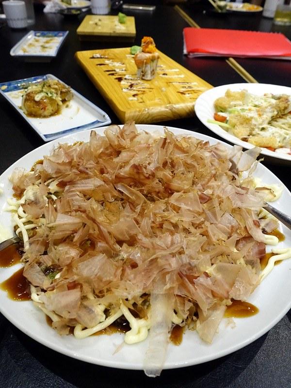 Oedo Japanese Restaurant- Okonomi Yaki P280