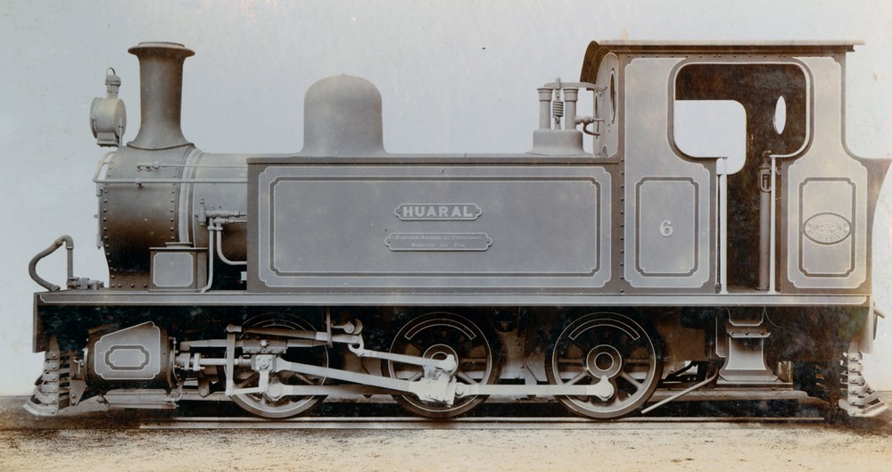 Side tank engine 'Huaral' built by Hawthorn Leslie