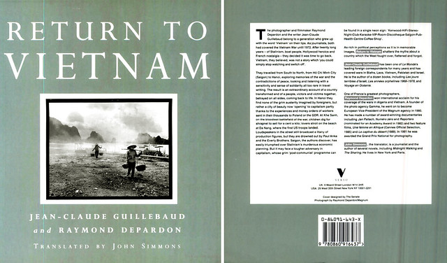 Return to Vietnam 1992 - by Jean Claude Guillebaud, Raymond Depardon