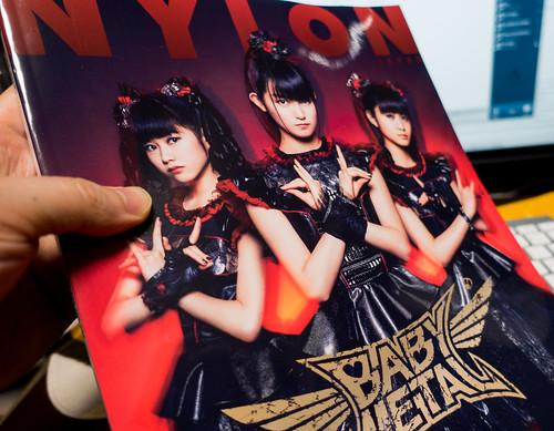 NYLON JAPAN 2016年 5月号 スペシャルエディション(BABYMETALカバー)