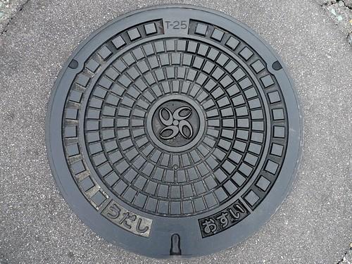 Uda Nara, manhole cover (奈良県宇陀市のマンホール)