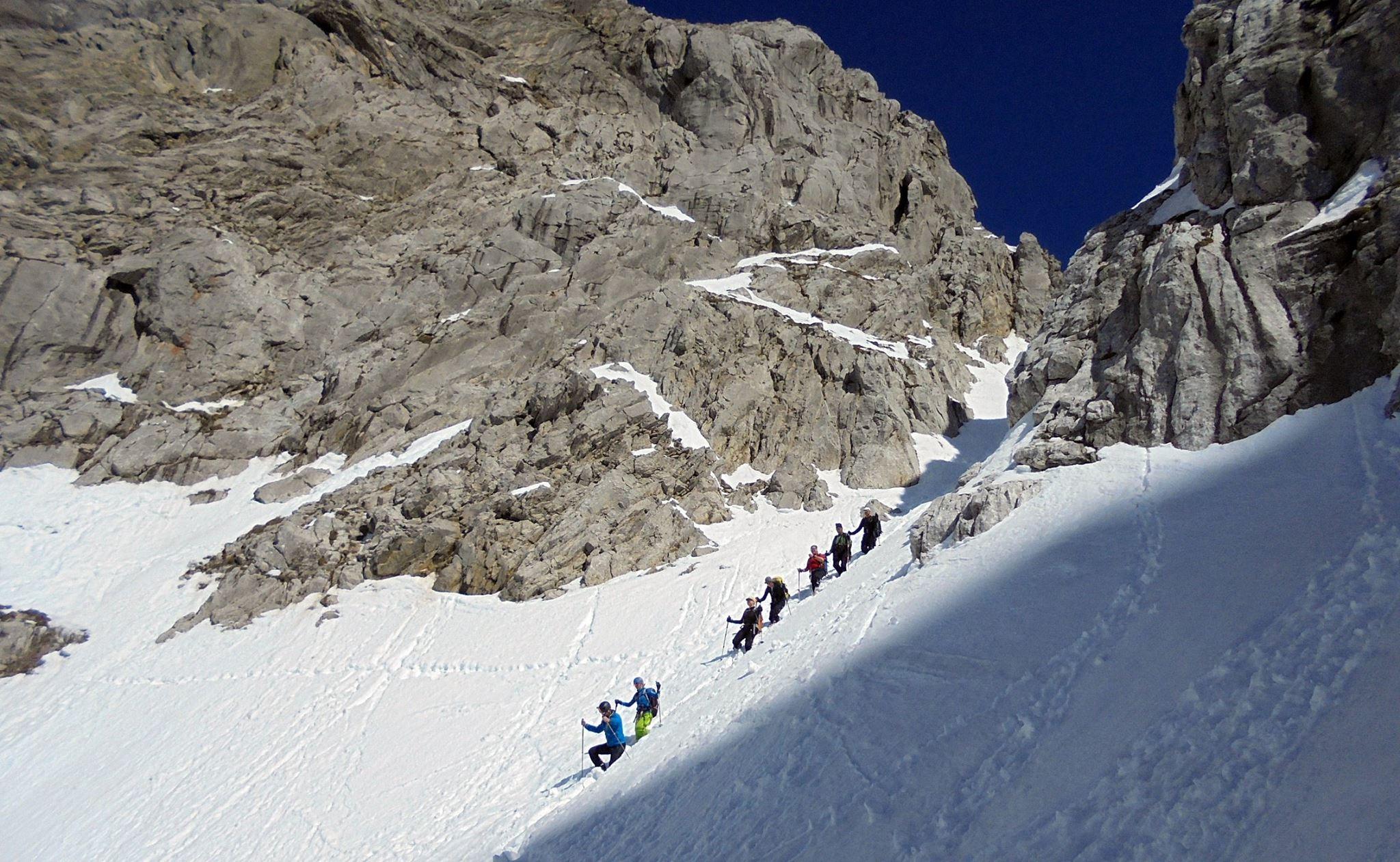 Schneekar (2.126m) + Treffauer Lucke, Wilder Kaiser, 19.03.2016
