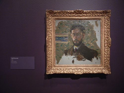 Pierre Bonnard, Legion of Honor, SF - Self-Portrait _ 1883