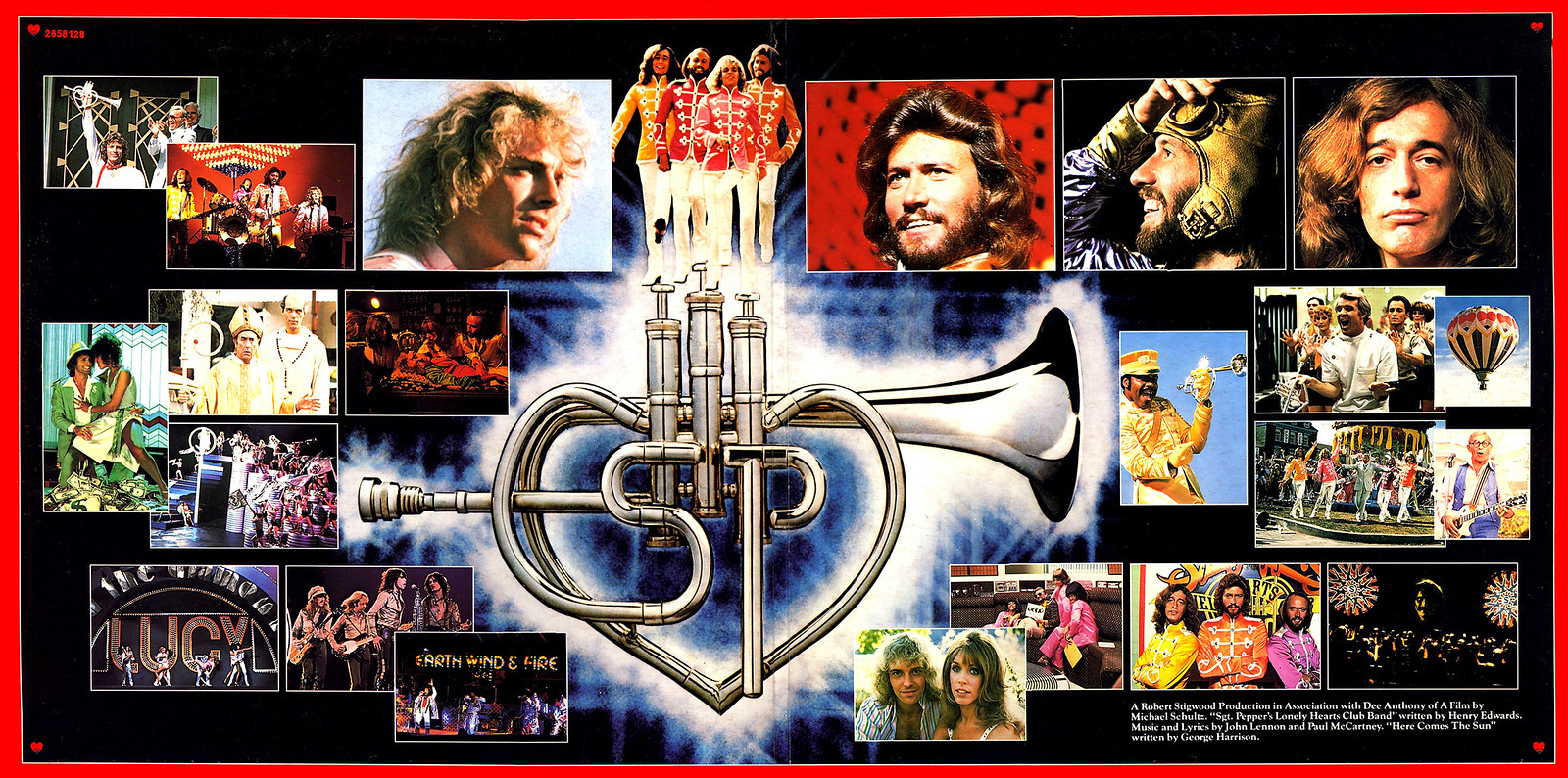 Resultado de imagen de Bee Gees & Peter Frampton Sgt Pepper S Lonely Hearts Club Band Movie