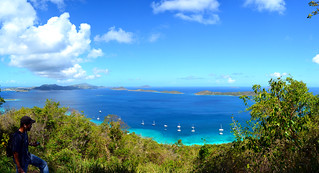 Image of Caneel Hawksnest Beach. ocean city sea love saint st john islands paradise atlantic virgin caribbean usvi stj