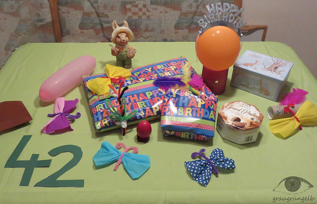 Geburtstagstisch