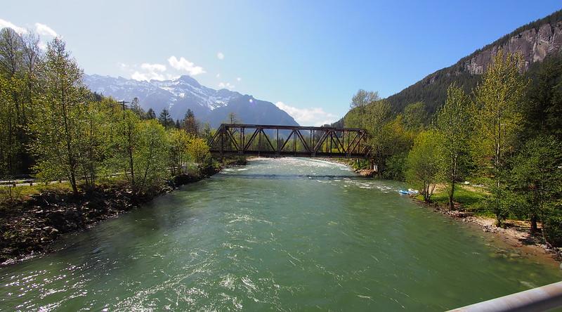 BNSF orth Fork Skykomish River Bridge