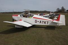 G-AYKT Popham Jodel D.117
