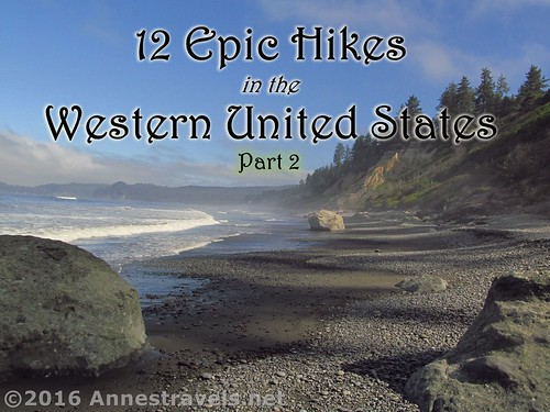 12 Epic Day Hikes in the Western United States, Part 2. This picture is from Ruby Beach, Olympic National Park, WA