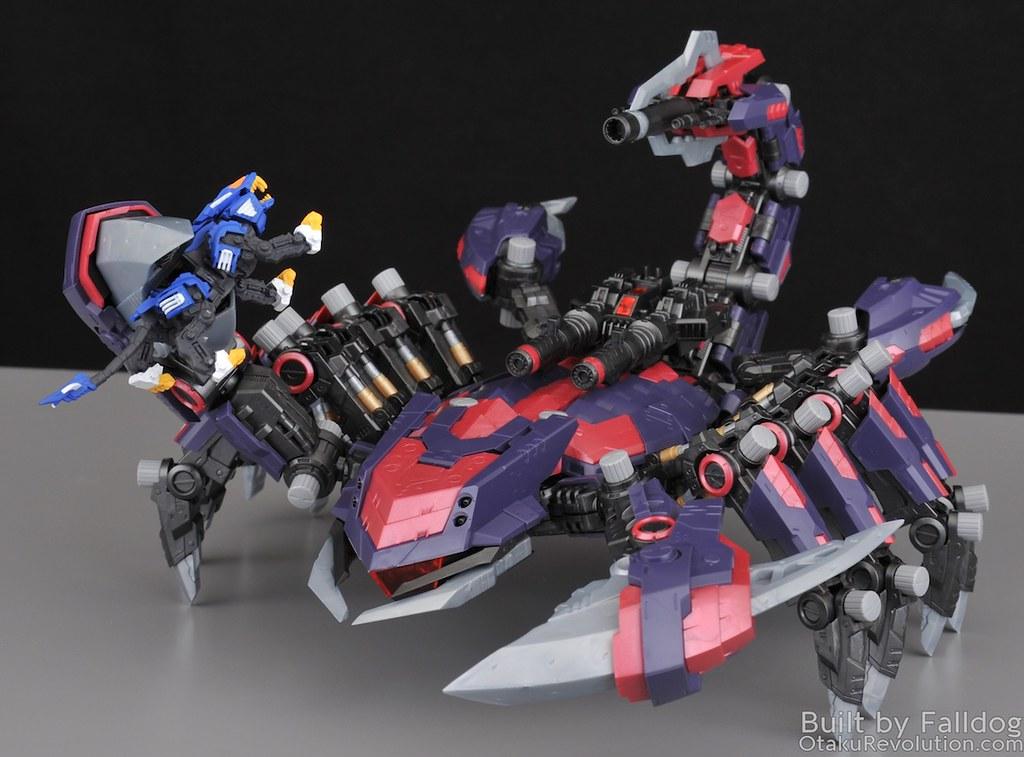 HMM Zoids - Death Stinger Review 5