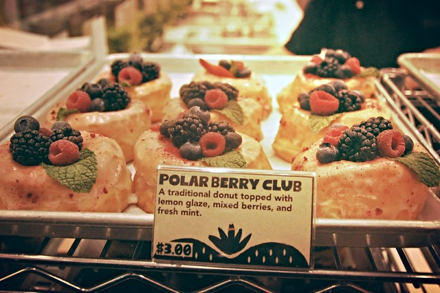 Donut Friend Polar Berry Club donut