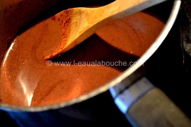 Mi-Cuit au Chocolat aux Amandes & Noix de Pecan © Ana Luthi Tous droits réservés 22