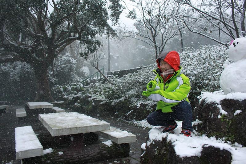 2016-台北陽明山-瑞雪-難得一見的雪白山景-17度C隨拍 (131)