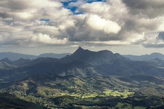 Mt Warning from Best of All Lookout, Springbrook Australia