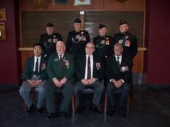 2011 photo Regimental Sergeant Majors 1974-2014