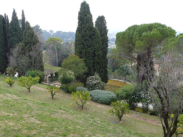 jardin de picasso