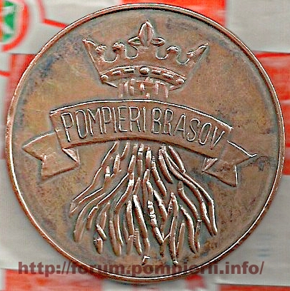 Medalie pompieri Brasov 2