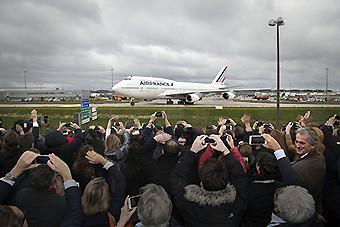 Air France adios B747 1 (Air France)