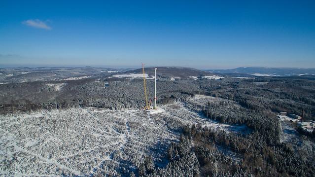 Windpark Rohrberg - 18.1.2016