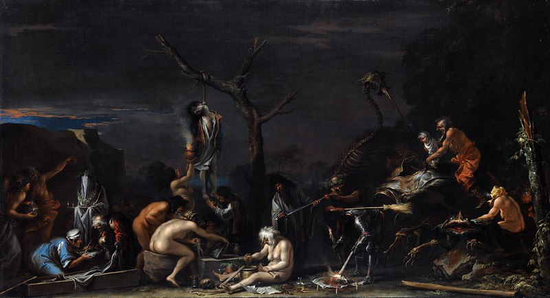 Witches at their Incantations